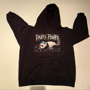 RIOT SOCIETY Hoodie sweater black for kids size XL